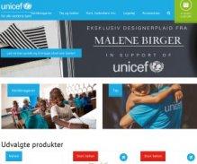 UNICEF Danmark shop